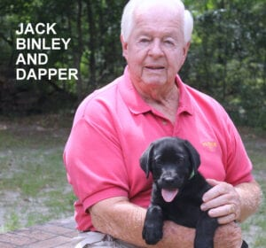 The Binley family and Dapper