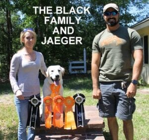 The Black family and Jaeger