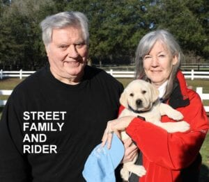 The Street family and Rider