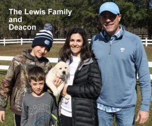 The Lewis family and Deacon