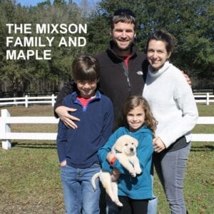 The Mixson family and Maple