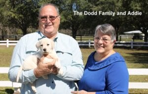 The Dodd family and Addie