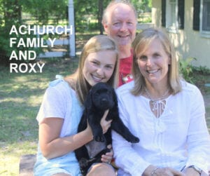 The Achurch family and Roxy