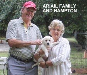 The Ariail family and Hampton