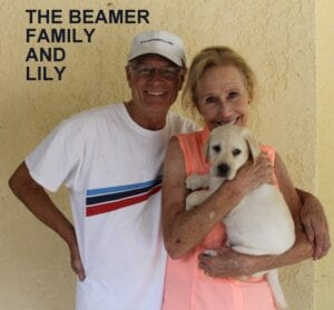 The Beamer family and Lily