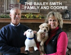 The Bailey Smith family and Cooper