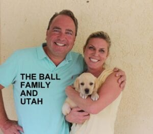 The Ball family and Utah