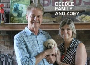The Beedle family and Zoey