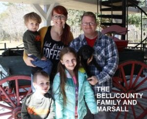 The Bell County family and Marshall