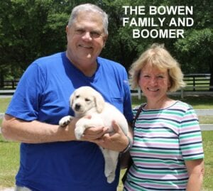 The Bowen family and Boomer