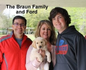 The Braun family and Ford