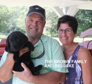 The Browne family and Big Jake