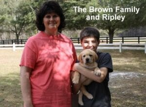 The Brown family and Ripley
