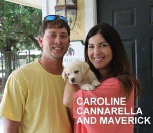 Caroline Cannarella and Maverick