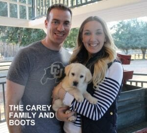 The Carey family and Boots
