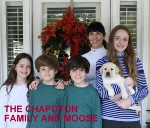 The Chapoton family and Moose