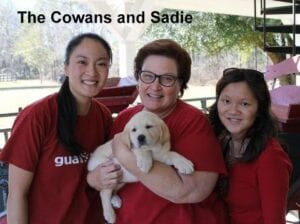 The Cowans and Sadie