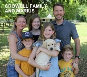 The Crowell family and Marius