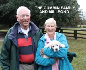 The Cummin family and Millpond