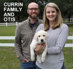 The Currin family and Otis