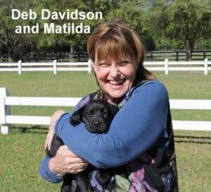 Deb Davidson and Matilda