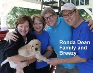 The Ronda Dean family and Breezy