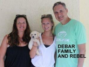 The Debar family and Rebel