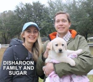 The Disharoon family and Sugar