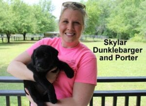Skylar Dunklebarger and Porter