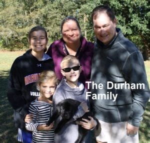 The Durham family