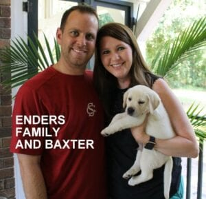 The Enders family and Baxter
