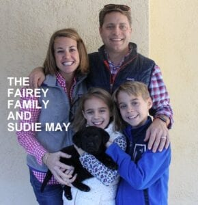 The Fairey family and Sudie May