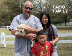 The Fazio family