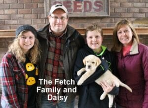 The Fetch family and Daisy