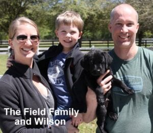 The Field family and Wilson