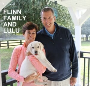 The Flinn family and Lulu