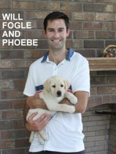 Will Fogle and Phoebe