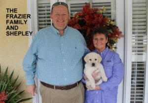 The Frazier family and Shepley