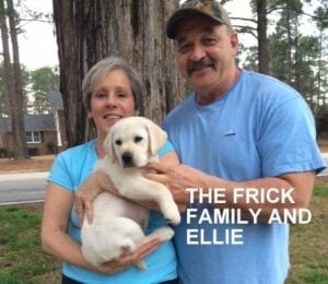The Frick family and Ellie