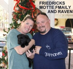 The Fredericks Motte family and Raven