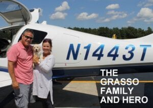 The Grasson family and Hero