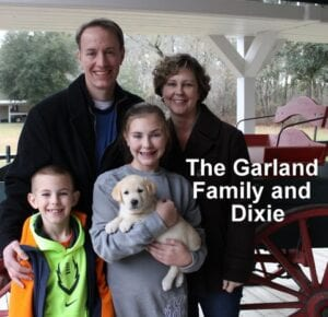 The Garland family and Dixie