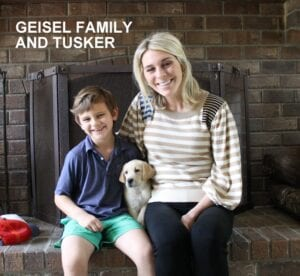 The Geisel family and Tusker