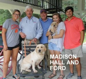 The Maddison Hall family and Ford