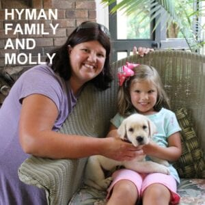 The Hyman family and Molly