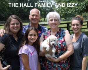 The Hall Family and Izzy