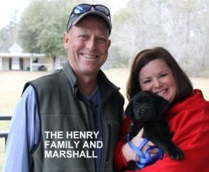 The Henry family and Marshall