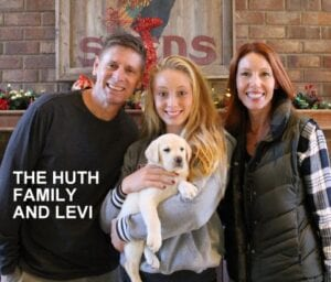 The Huth family and Levi