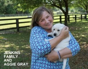 The Jenkins family and Aggie Gray