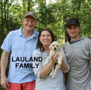 The Lauland family